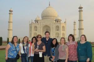 Group at Taj Mahal